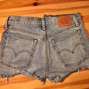 Levi's Shorts - Levi cutoff shorts 501